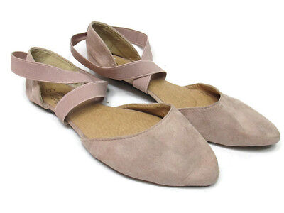 c7131a21fce1 Charles Albert Womens Knotted Front Canvas Round Toe Ballet Flats Women