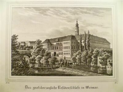 Weimar - Lithographie