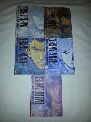 Lot Mangas Dark Angel 5 Volumes Serie Complete Kia Asamiya