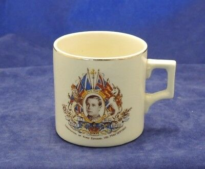 Edward Viii Coronation Mug 1937 Made In England #5
