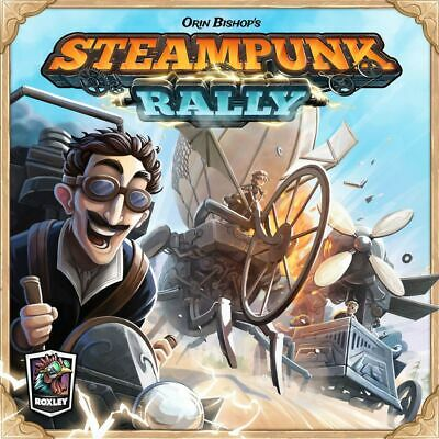 Steampunk Rally - Roxley - New Board Game