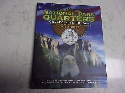 2010 - 2018 ATB National Park 90 Quarter PD Set to Date wDeluxe Collector Folder