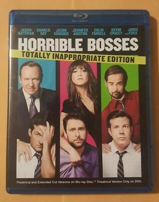 Horrible Bosses On Bluray In Very Good Conditions 2 Disc Set