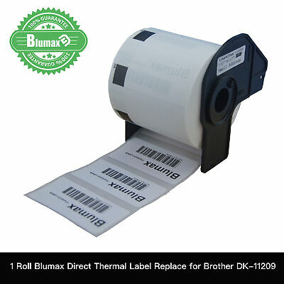 1 Blumax Compatible DK-11209 BROTHER Small Address Labels – 29mm X 62mm