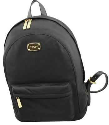 4f86bc4d259e MICHAEL KORS BACKPACK, Green Moss, Jet Set, Nylon with Leather ...
