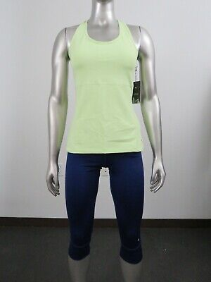 NWT Womens Mountain Hardwear Synergist Cropped Tank Active Yoga Shirt Headlamp