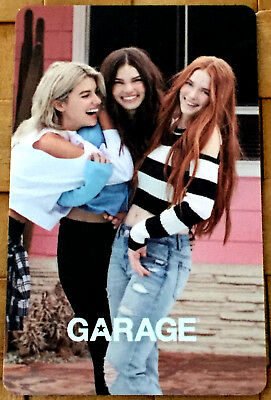 GIFT CARD FROM LE GARAGE CANADA BILINGUAL NO CASH VALUE Rechargeable unscratched