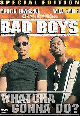 Bad Boys ~ DVD 2000 ~ Martin Lawrence & Will Smith ~ Special Edition ~ Rated R