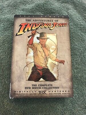 The Adventures of Indiana Jones ~The Complete DVD Movie Collection *Full Screen*