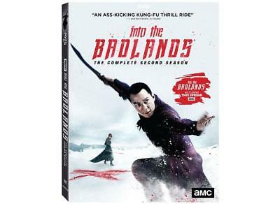Into The Badlands Complete Second Season  2017 DVD Daniel Wu Sealed New