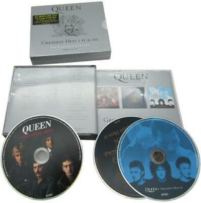 Greatest Hits: I II & III: The Platinum Collection [Box] by Queen (CD, Sep-2002,