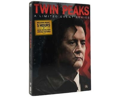 Twin Peaks: A Limited Event Series (DVD, 2017, 8-Disc Set) New Sealed Rare