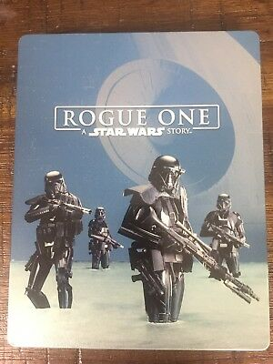 Rogue One A Star Wars Story Blu Ray Steelbook 3-Disc Limited Edition