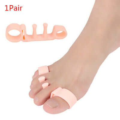 1 pair foot care gel bunion protector toe separators correctors hallux valgus FT