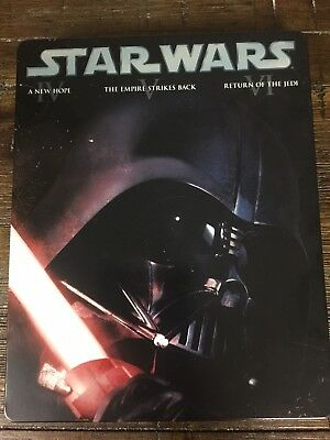 Star Wars Original Trilogy Blu Ray Steelbook Hard To Find