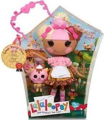 Lalaloopsy Scoops Waffle Cone Large Doll **Mib**
