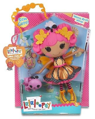 Lalaloopsy Mona Arch Wings ( Large Doll) **Mib**