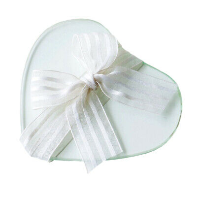 Heart Shaped Glass Coaster, Pack of 2