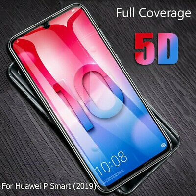 5D Tempered Glass Screen Protector For Huawei P30 Pro Y7 Y9 P Smart 2019 Nova 4