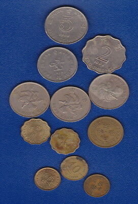 1978 Hong Kong 50 Cent Coin + BULK  HIGHER VALUE COINS for travellers/Collectors