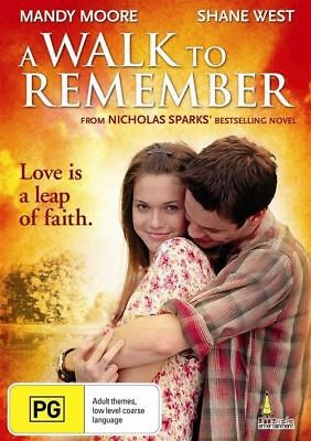 A Walk To Remember (DVD, 2011) Mandy Moore = all pal = sealed = free post
