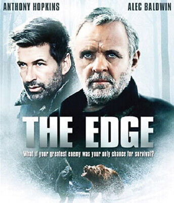 The Edge (1997 Anthony Hopkins Elle Macpherson) BLU-RAY NEW