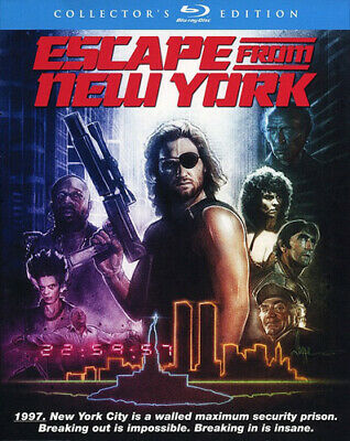 Escape from New York (John Carpenter's) (2 Disc, Collectors Edition) BLU-RAY NEW