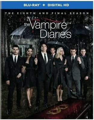 The Vampire Diaries: The Complete Eighth and Final Season (Season 8) BLU-RAY NEW