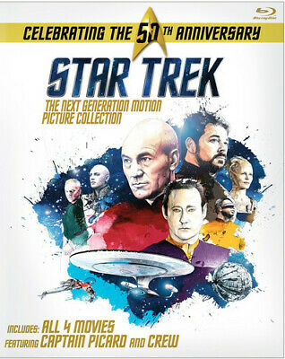 Star Trek: The Next Generation - Motion Picture Collection (4 Disc) BLU-RAY NEW