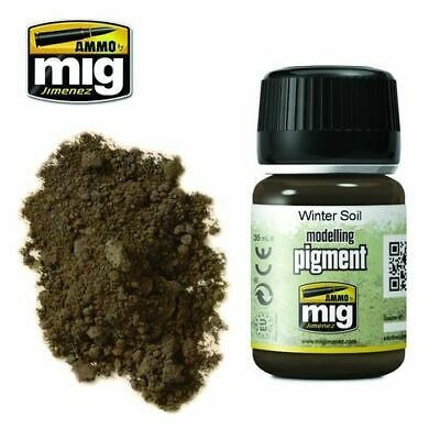 Ammo Of Mig Pigment Winter Soil Cod.amig3029