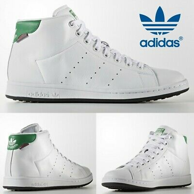 brand new 2e3b2 67f8d Adidas Stan Smith Shoes Mens Originals Superstar White Leather Gazelle  S80498