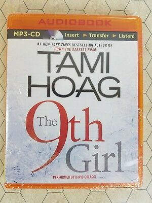 The 9th Girl by Tami Hoag (2013, CD, Unabridged) New