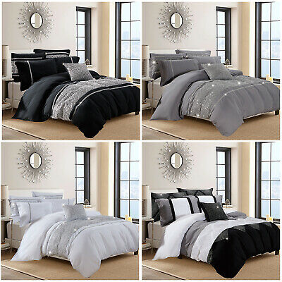 Luxury Duvet Cover With Pillowcases Quilt Cover Bedding Sets Double & King Size