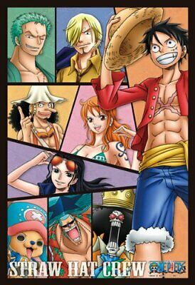 One Piece 300 Piece Jigsaw Puzzle Straw Hat Crew Art Crystal Jigsaw ensky