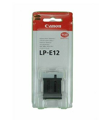 Bateria Canon LP-E12 Battery LPE12 EOS M M2 M10 100D Kiss X7 Rebel SL1