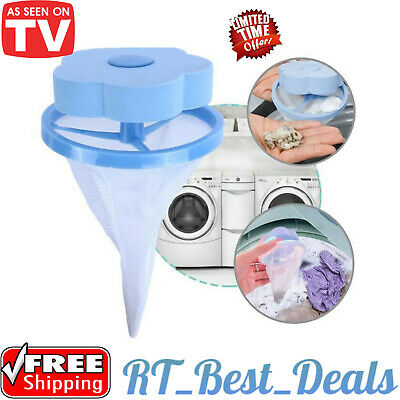 Laundry Lint & Pet Hair Remover Fur Wizard Hurricane Clothes Carpet Dogs Cats