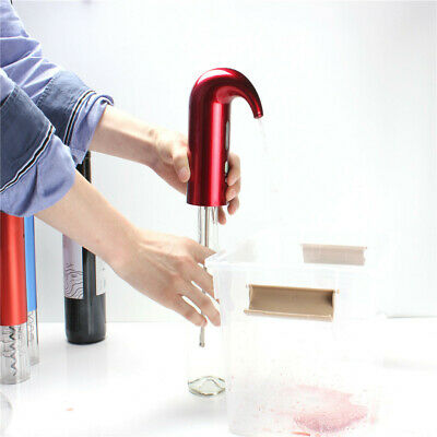 Electric Wine Aerator Automatic Wine Breather USB One Touch Operation