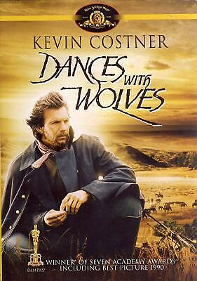 Dances with Wolves (DVD, 2004, Kevin Costner) New