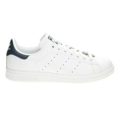 Scarpe Adidas Stan Smith Scarpe da Uomo Men s Shoes Bianco White Blu Blue  M20325 8e805a0f878
