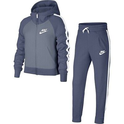 NIKE B NSW Trk Suit Poly ObsidianRoyal Tuta Triacet