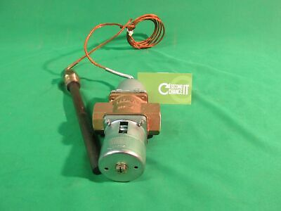 sterlco marsh 3/4 steam heat control valve range 60/140F
