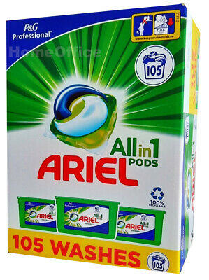 Ariel Washing Pods 3 in1 Capsules Clothes 105  Washes