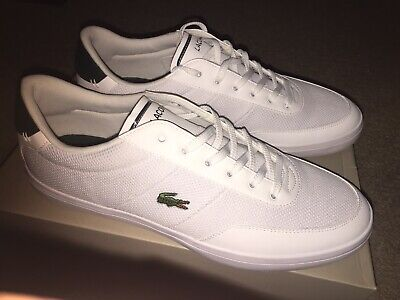 4ee251a9a04d72 Mens Lacoste Court Master Trainers size 10 Uk 44