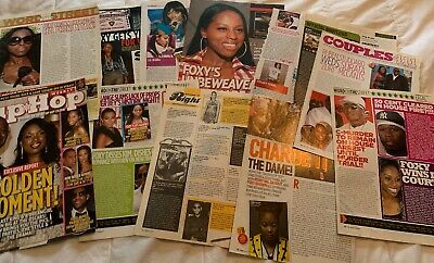 Foxy Brown/Lil Kim Clippings