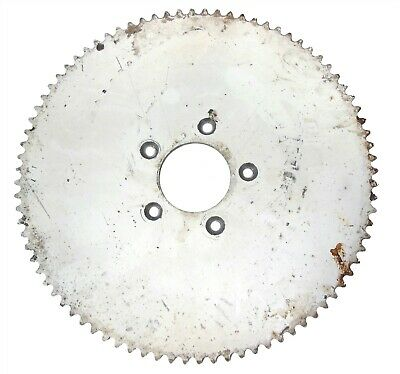 """84T (tooth) #35 Chain Sprocket 3"""" Bolt Circle Go-Kart Off Road Cart Parts Gear"""