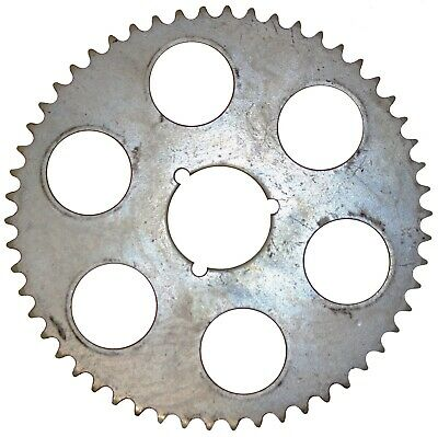 """54T (tooth) #40 Chain Sprocket 2-1/4"""" Bolt Circle Go-Kart Off Road Cart Gear"""