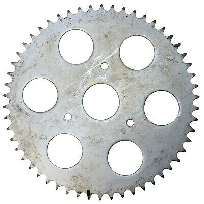 """54T (tooth) #40 Chain Sprocket 3-1/4"""" Bolt Circle Go-Kart Off Road Cart Gear"""