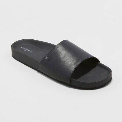 e5b9ad0c99ef GOODFELLOW   CO Men s Ryder Flip Flop Sandals – Black S 7 8 -  18.74 ...