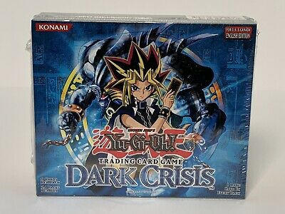 Yugioh Dark Crisis English Unlimited Booster Box 24 Packs - Factory Sealed Hobby