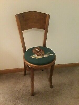 Small Antique Bentwood Chair